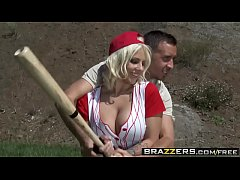 Sporty teens (Kagney Linn Karter, Lylith Lavey) share a cock after the ball game - BRAZZERS