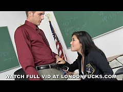 Clip sex Big Tit Asian London Keyes Fucked After Class