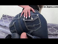 These pussy hugger jeans were really hard to find JOI