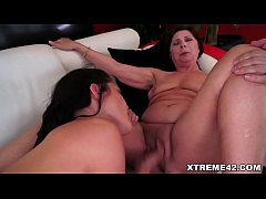 Old and young pussy licker lesbos
