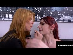 Penny Pax & Violet Monroe Fight Fuck Over Boss Cock! Dude?