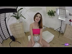 TmwVRnet.com - Ambika Gold - Playing toys on stool