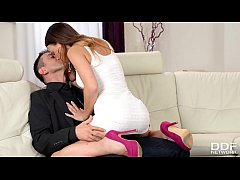 Slim teen Taylor  fucked balls deep by talent scout until she creams