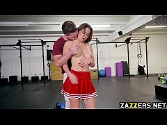 Brooke Beretta flexing her tight pussy for Kyle Mansons cock