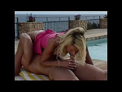 Blonde Hard Fucked By The Pool