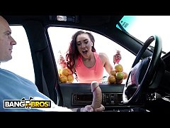BANGBROS - Black Babe Demi Sutra Fucks To Sell Her Oranges