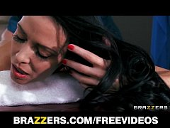 Big booty brunette Vanilla Deville has her fat ass massaged and fucked
