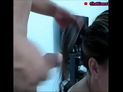 pov teen stepsister helping me to jerk off