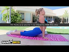 BANGBROS - PAWG Pornstar Mia Malkova Does Yoga Before Bouncing Her Big Ass On Cock (POV)