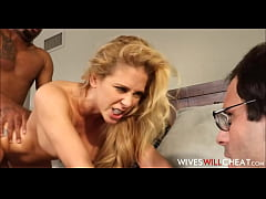 Big Tits & Ass Wife Cherie DeVille Caught Cheating On Cuckold Husband With Black Guy From Internet