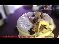 Clip sex Spy cam at french private party! Camera espion en soiree privee. Part389