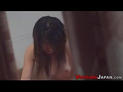HD Japanese babe rides dick