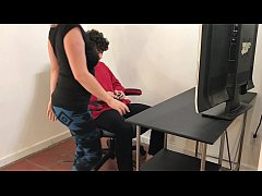 My stepmom helps me relax and cum - Matthias Christ