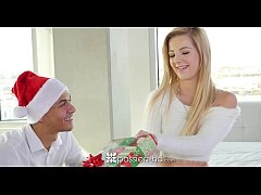 Passion-HD - Bella fucks her secret Santa for Xmas