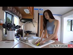 Trailer Swipe, Carolina Sweets gets a booty call - DigitalPlayground
