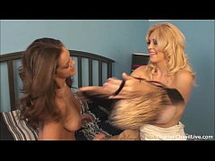 milf scissoring with charlee chase and a young babe