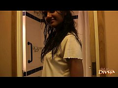 Indian Teen Divya Shaking Hot Ass In Shower