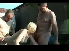 crazyamateurgirls.com - Dogging  swinger wife shared her body at strangers - crazyamateurgirls.com