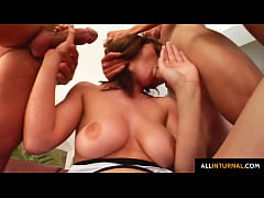 Chrissy Fox shows her holes with dipping messy cum