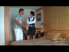 HD Tricking room maid into fucking me
