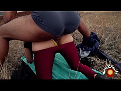 Ana CHAUDE - Fucking Her Ass In A Far Away Field