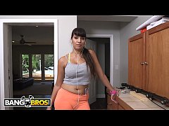 bangbros - dirty latin maid mercedes cleans out sean lawless s pipes