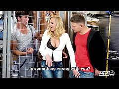 KINKY INLAWS - Czech stepmom Klara enjoys DP in MMF threesome with stepson