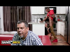 HD BANGBROS - Brandi Bae Gets Dicked Down By Her Father's Black Friend