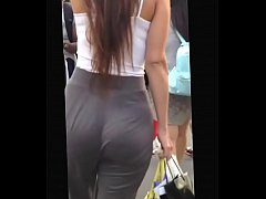 Candid slim thick girl in leggings pt 1