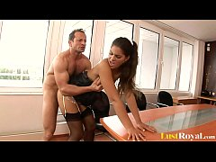 HD Slutty Secretary Defrancesco Gallardo Punished For Not Doing Her Job