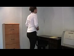 Woman forced to strip in office