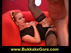 German Blonde cumswallow babe