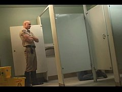 Cop in the bathroom View more stuff on befucker.com