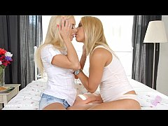Sensual lesbian scene by Sapphix with Nesty and Nikky Thorn - Morning Quickie