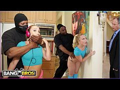 Clip sex BANGBROS - AJ Applegate Gets Hate Fucked By Home Invader Behind Dad's Back
