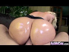 (alena croft) Superb Girl With Huge Oiled Butt Take It Deep In Her Ass vid-02