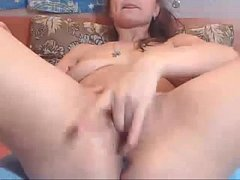 Briskly Massaging Clit and Dipping Fingers in Smooth - more videos on HOTVDOCAMS.com