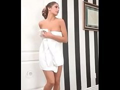 august ames towel dropping gif