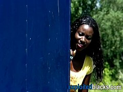 Builders piss in black girl's mouth