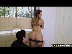 Eva Lovia rides on top of Xander Corvus cock