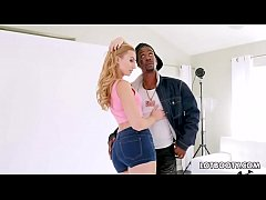 Big ass blonde Alexa Grace interracial fuck