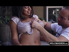 KELLY MADISON Ella Knox Brings Her Big Wet Tits to the Madisons