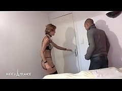 Pretty amateur french whore gives massage and her ass for some extra bucks