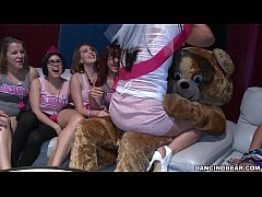 HD Bachelorette Party Goes Crazy For the Bear! (db14088)