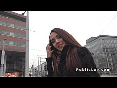 Russian Milf from public fucks
