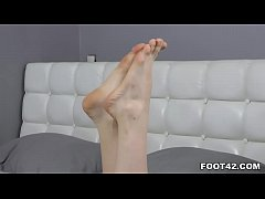 Hot foot fetish sex