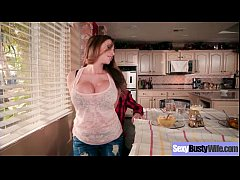Sexy Busty Housewife (Ariella Ferrera) Realy Love Hardcore Intercorse movie-10