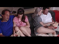 Trading daughters on a movie night- WTF