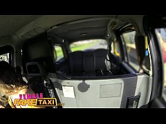 Female Fake taxi Multiple lesbian orgasms for busty welsh tattooed milf