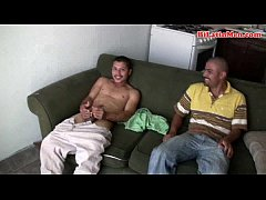 Hot gay masculine Mexican men suck big uncut cocks